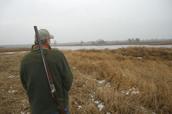 Auf Enten-Jagd