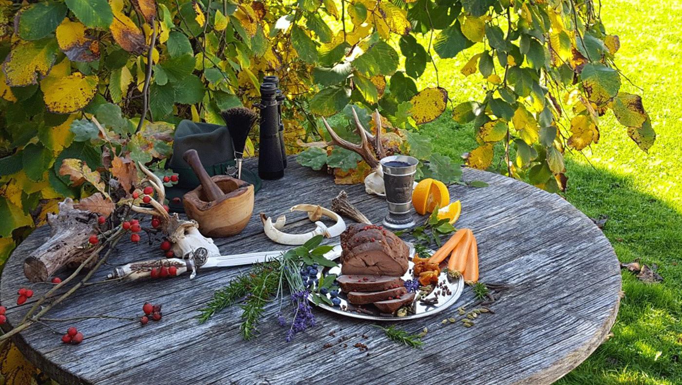 Naturhof Engel eigene Jagd: Wildgericht